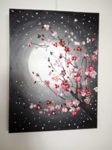 slika 3 225x300 - Silvija Strle - razstava slikarskih del