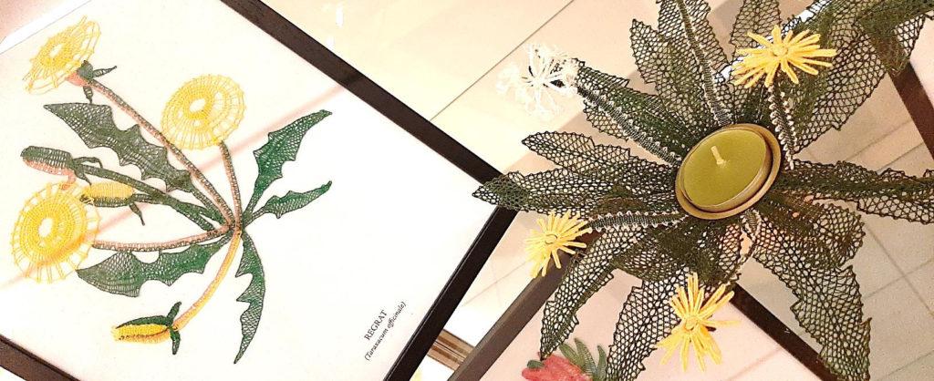 1klekljarska 1024x418 - Zdravilne rastline - razstava čipk Klekljarske sekcije KD Rak Rakek