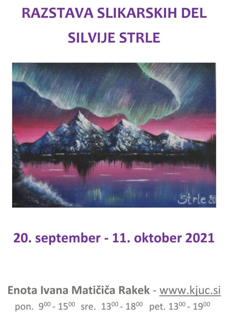 silvija.strle . razstava 2021 pagecover 747x1024 - Razstava slikarskih del Silvije Strle
