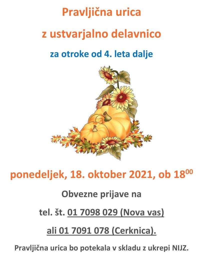 cover 1 813x1024 - Pravljična urica z ustvarjalno delavnico za otroke od 4. leta dalje – Nova vas