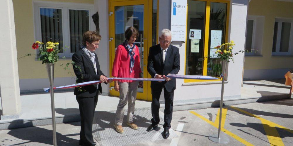 Odprtje novih prostorov KJUC – Enota Ivana Čampa Nova vas