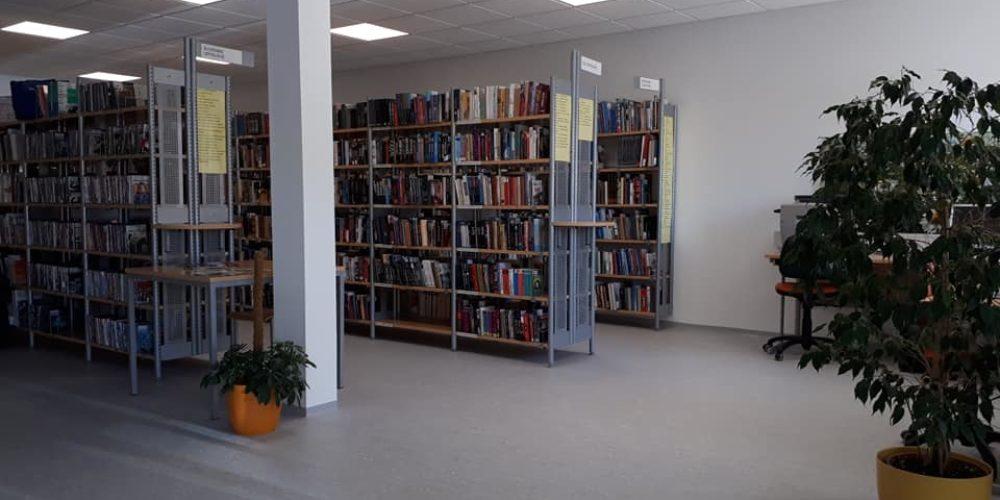 Knjižnica v Novi vasi v novih prostorih