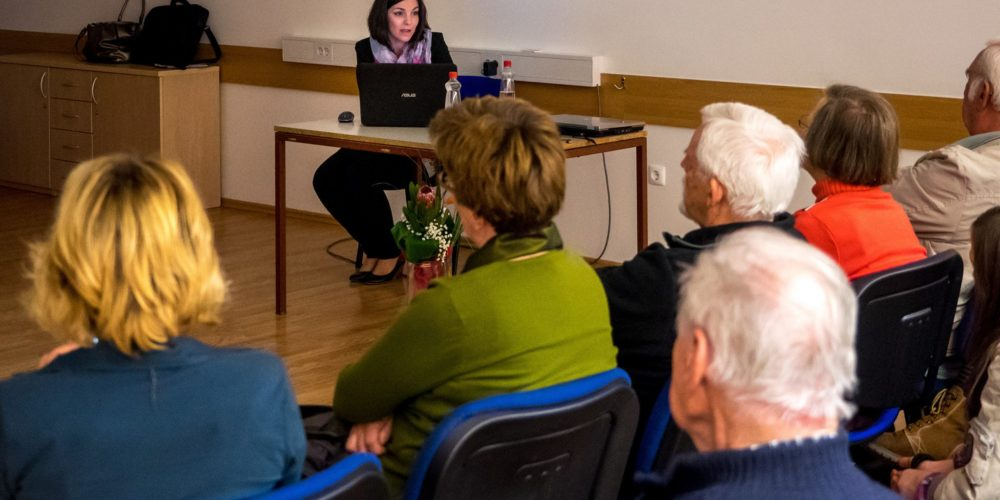 Eva Petan je predstavila življenje in delo Izidorja Modica