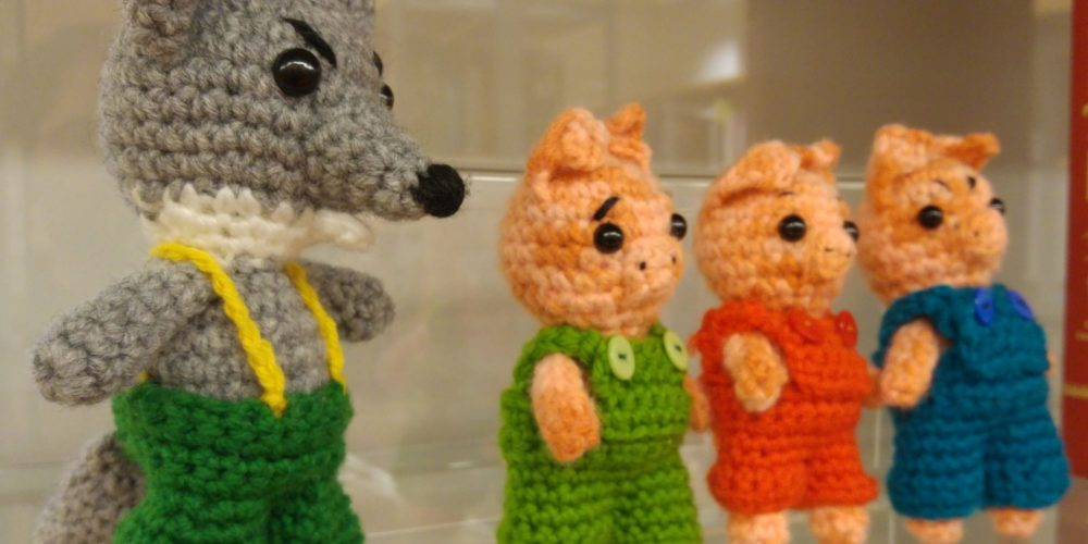 Andreja Benčina – razstava volnenih igračk