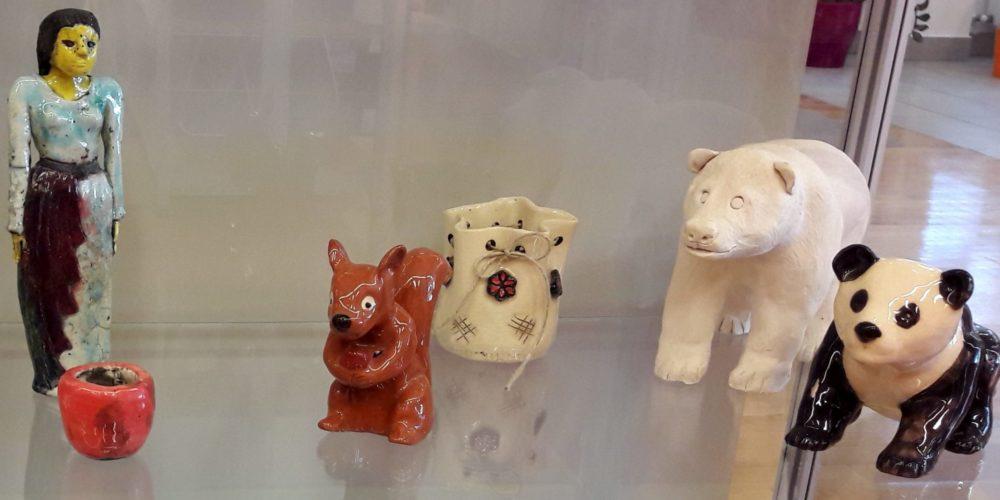 KD Rak Rakek – razstava izdelkov iz keramike