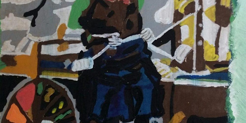 Suzana Oblak – razstava unikatnih slik in vaz