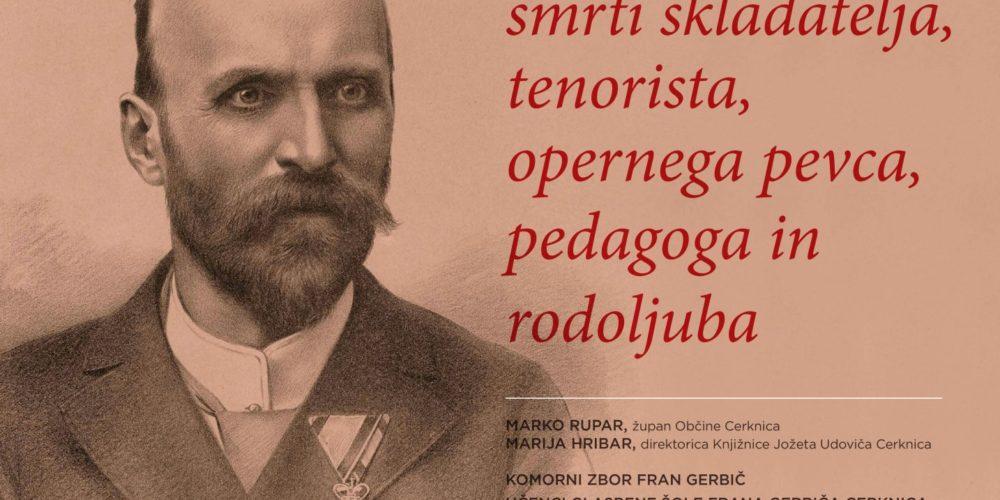 Fran Gerbič – Razstava ob stoletnici smrti