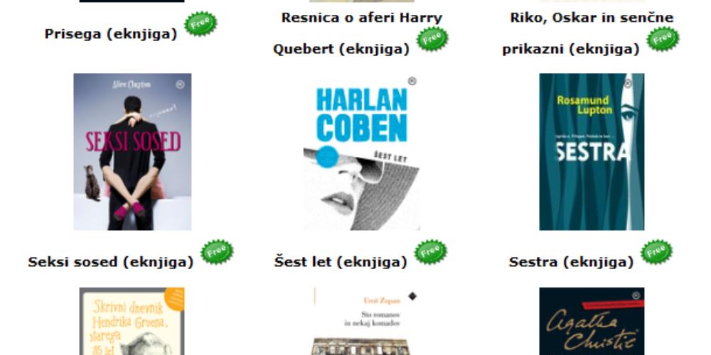 Brezplačne elektronske knjige Založbe Mladinska knjiga