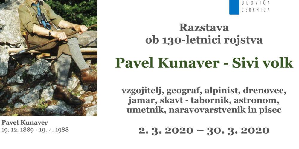 Pavel Kunaver – razstava ob 130-letnici rojstva