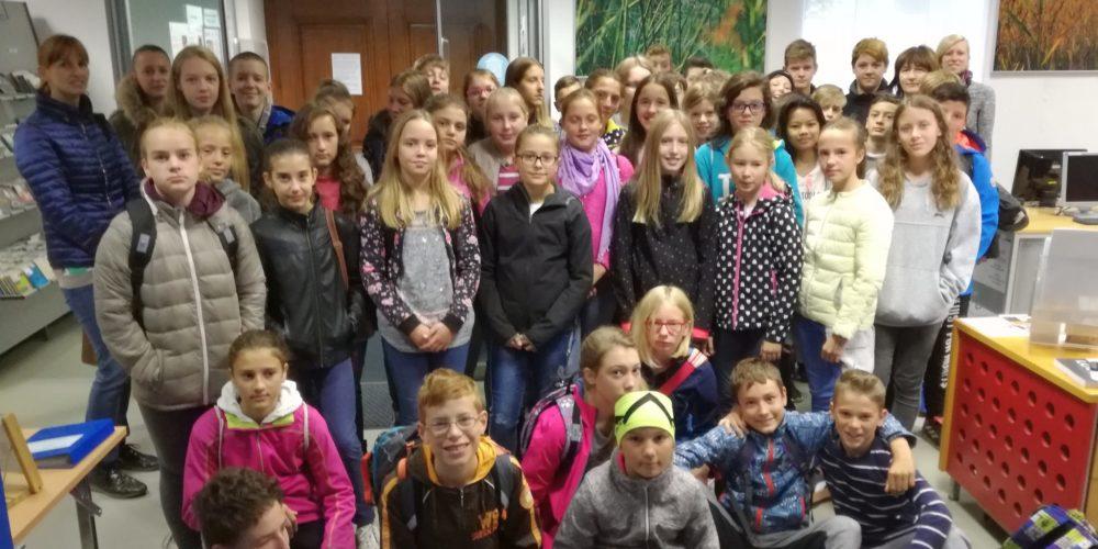 Obisk sedmošolcev iz Starega trga