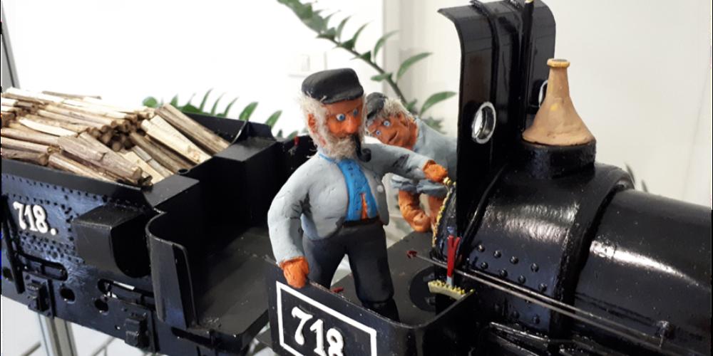 Zvone Ivančič: 160 let južne železnice – razstava maket lokomotiv in izbora znamk
