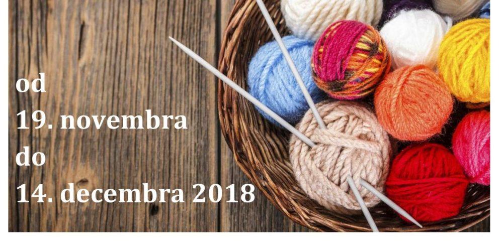 Marinka Ivančič – razstava kvačkanih in pletenih izdelkov