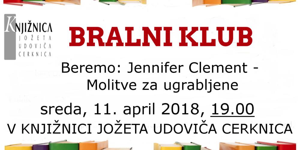 Bralni klub: Jennifer Clement – Molitve za ugrabljene