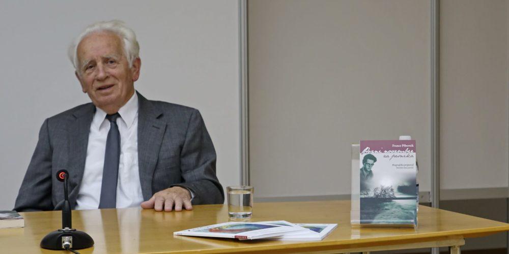 Pozni november za pesnika: Predstavili knjigo o Francetu Balantiču