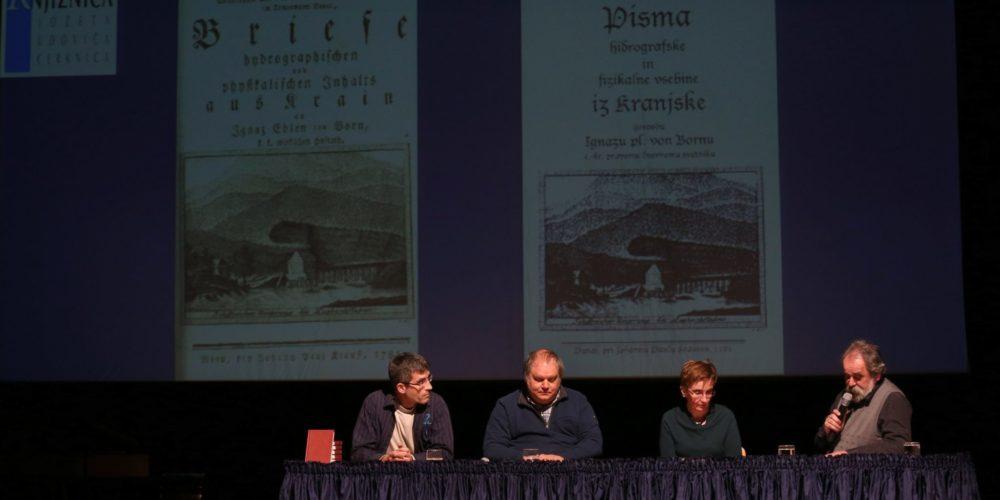 Hidrografska pisma Tobiasa Gruberja predstavljena v Kulturnem domu