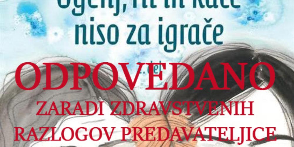 ODPOVEDANO – Milena Miklavčič