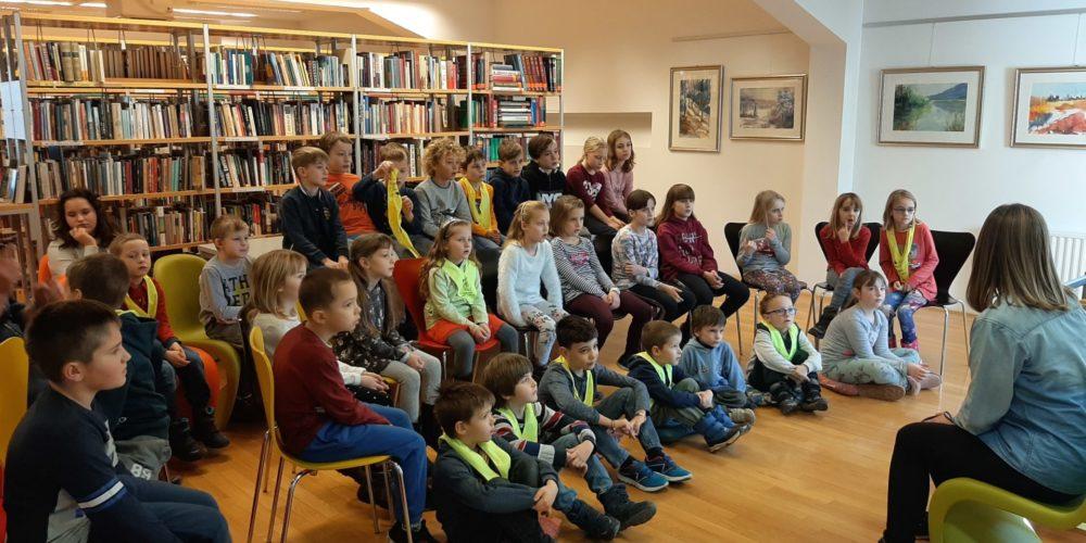 Obisk unških osnovnošolcev
