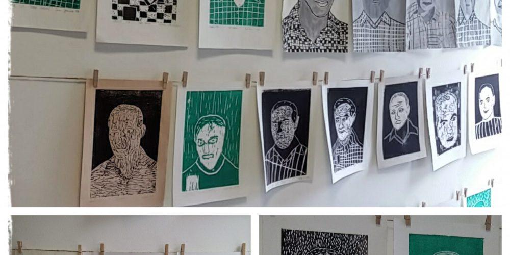Slikanje portretov: Valvasor, Udovič – razstava likovnih del osnovnošolcev