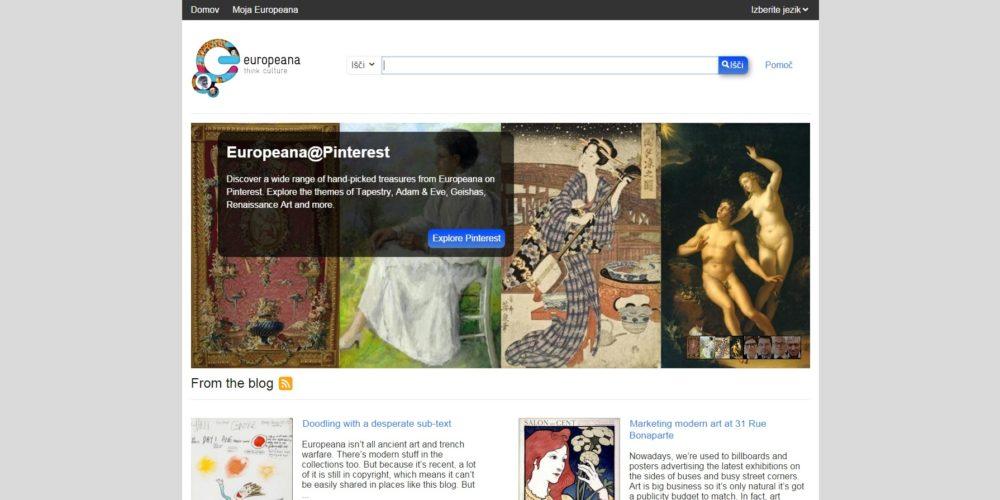 Europeana – Evropska digitalna knjižnica
