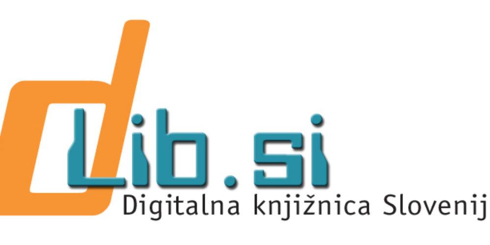 Digitalna knjižnica Slovenije dLib