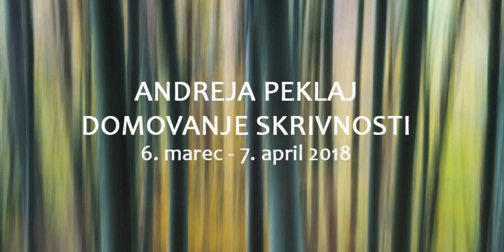 Andreja Peklaj: Domovanje skrivnosti – fotografska razstava