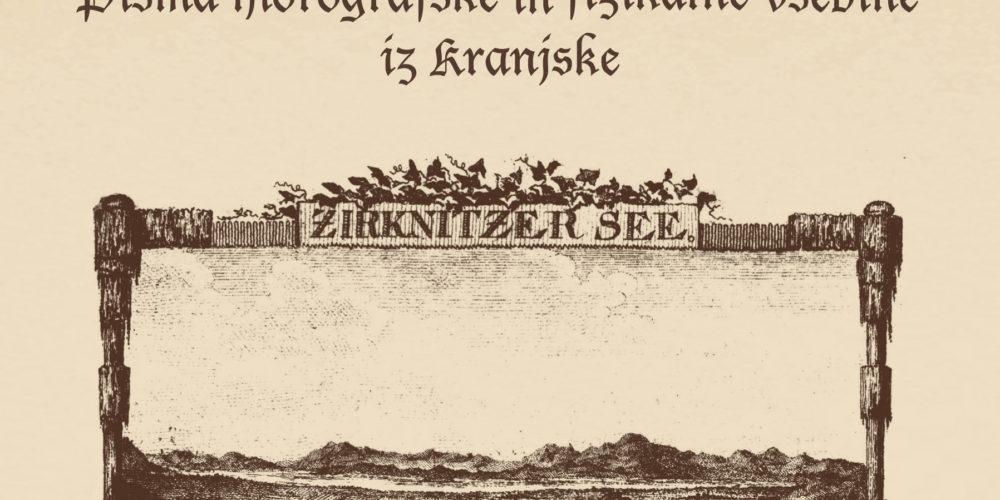 Tobias Gruber je v knjigi opisal tudi fatamorgano nad Cerkniškim jezerom
