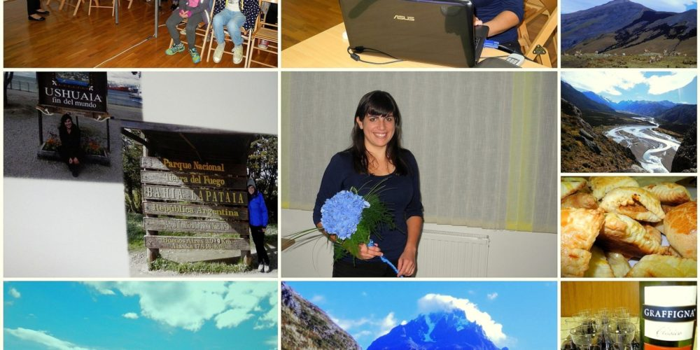 Teja Samsa o doživetjih v Patagoniji