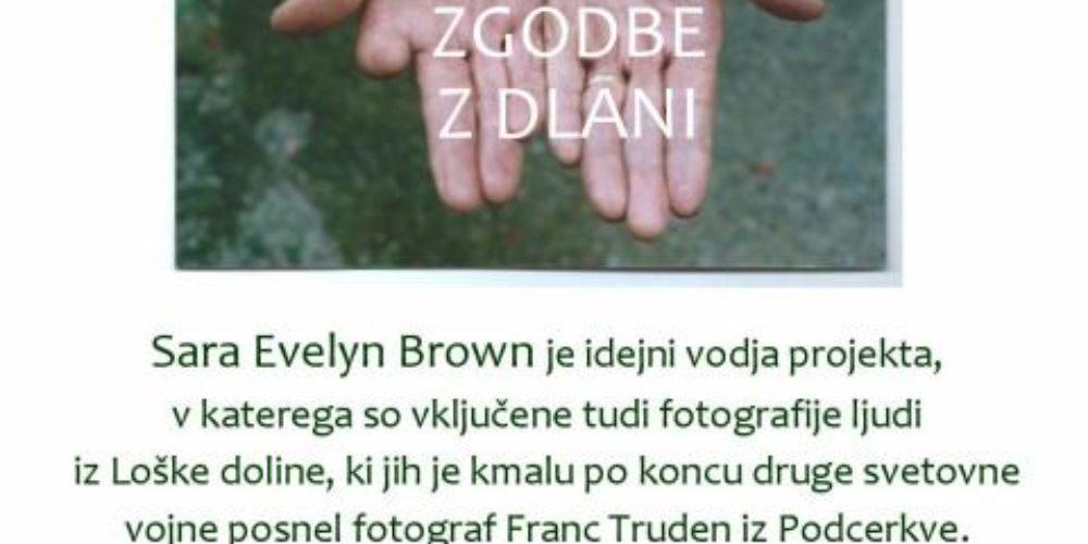 Sara Evelyn Brown in Janja Urbiha: Zgodbe z dlani