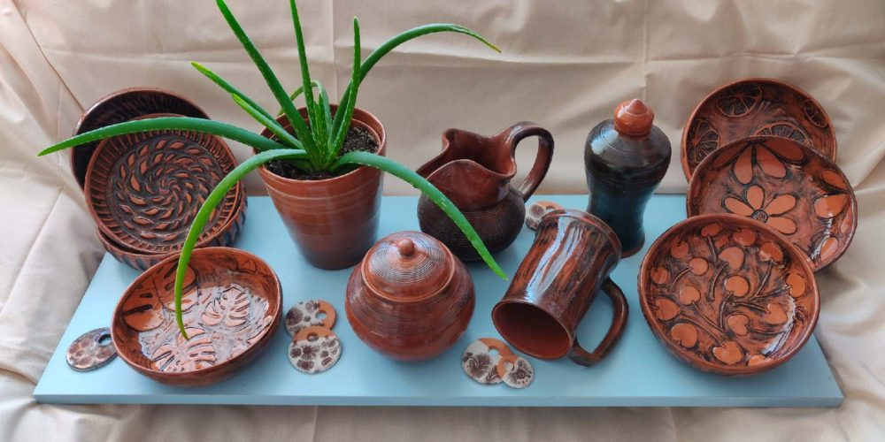 Marjeta Lužnik – Meri Lu pot – razstava unikatne uporabne keramike