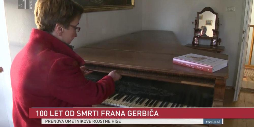 Prenova rojstne hiše skladatelja Frana Gerbiča – prispevek na TV SLO