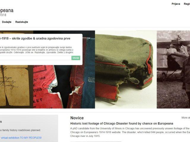 Europeana 1914–1918