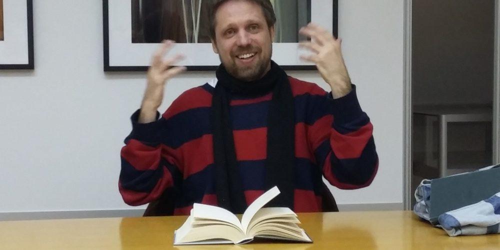 Miklavž Komelj – literarni večer ob svetovnem dnevu poezije