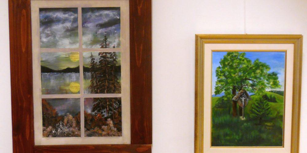 12. slikarski Ex-tempore Rak Rakek – razstava likovnih del