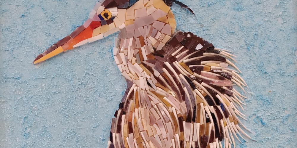 Ptice naših krajev – razstava del Sekcije Mozaiki KD Rak Rakek