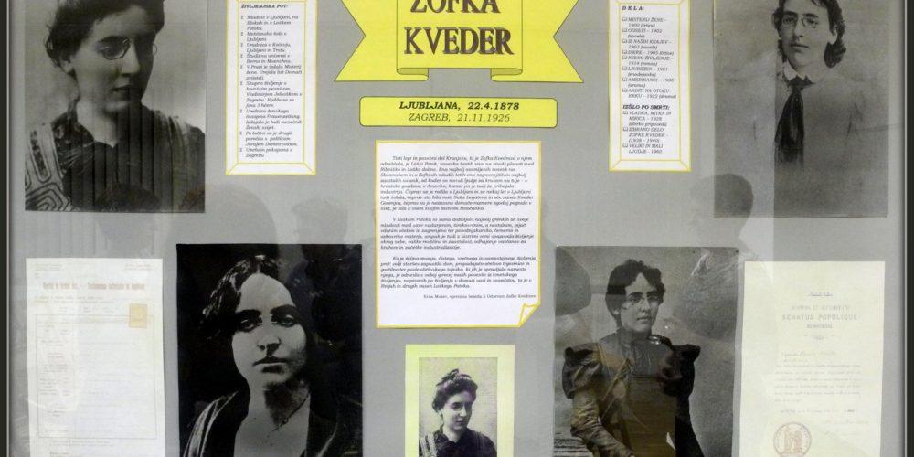 140-letnica Zofke Kveder