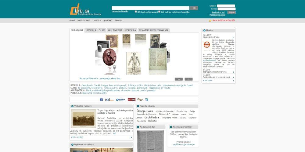 dLib.si – Digitalna knjižnica Slovenije
