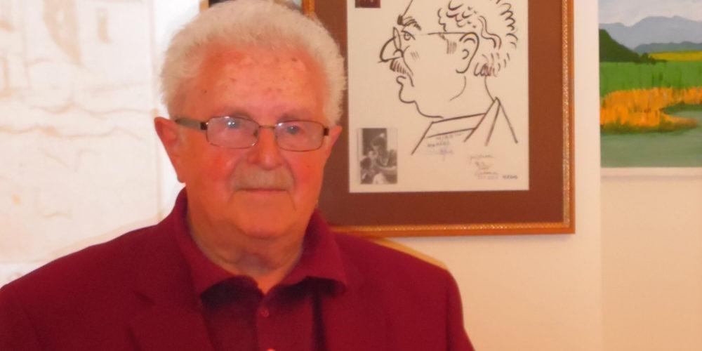 Miroslav Steržaj na obisku v rakovški knjižnici