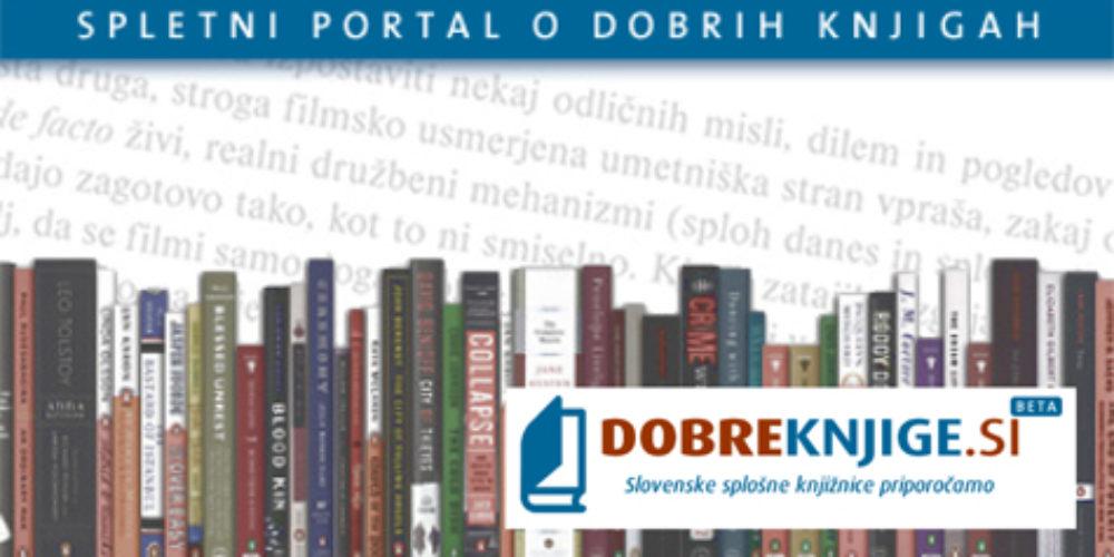 Dobreknjige.si – spletni portal o dobrih knjigah