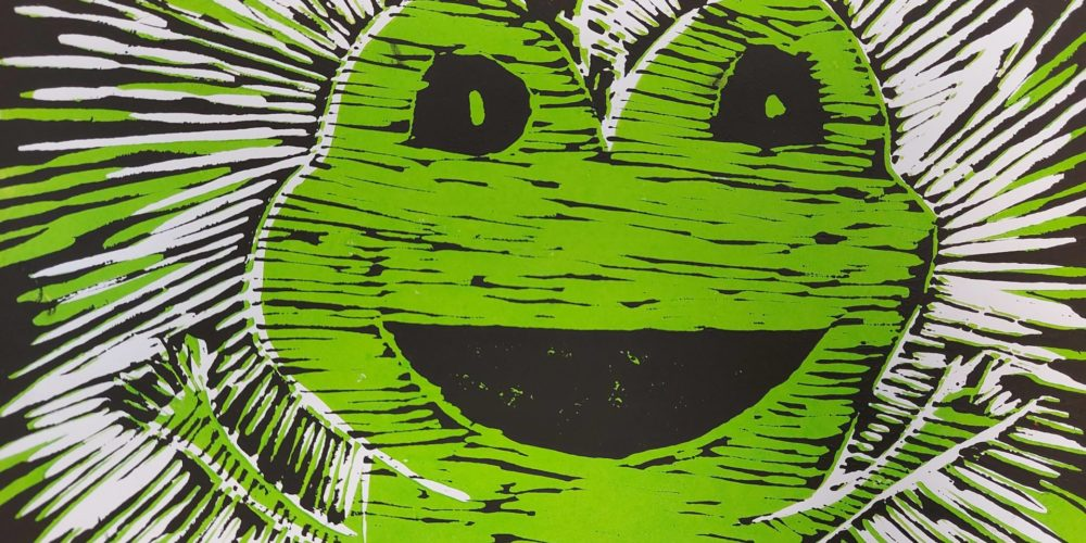 Žabe – razstava grafik učencev 7. razredov OŠ Notranjski odred Cerknica