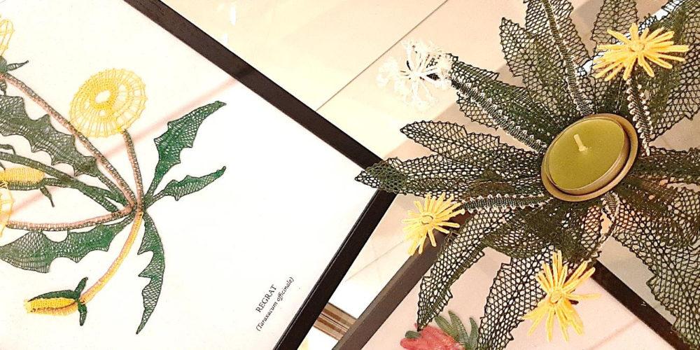 Zdravilne rastline – razstava čipk Klekljarske sekcije KD Rak Rakek