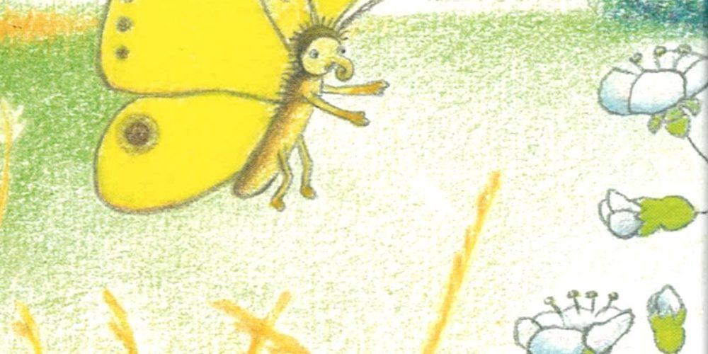 ODPOVEDANO – Metuljček cekinček – predstavitev slikanice pesmi Janeza Bitenca z ilustracijami Karmen Bajec