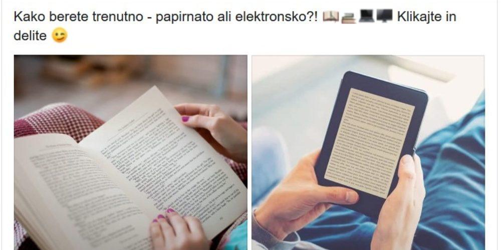 Anketa – tiskana ali elektronska knjiga