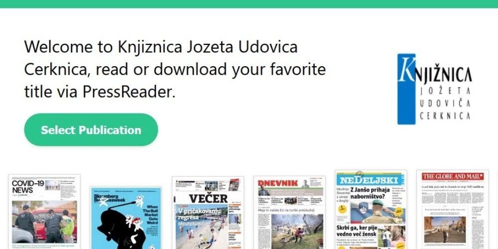 Časopisi in revije z vsega sveta brezplačno dostopni od doma