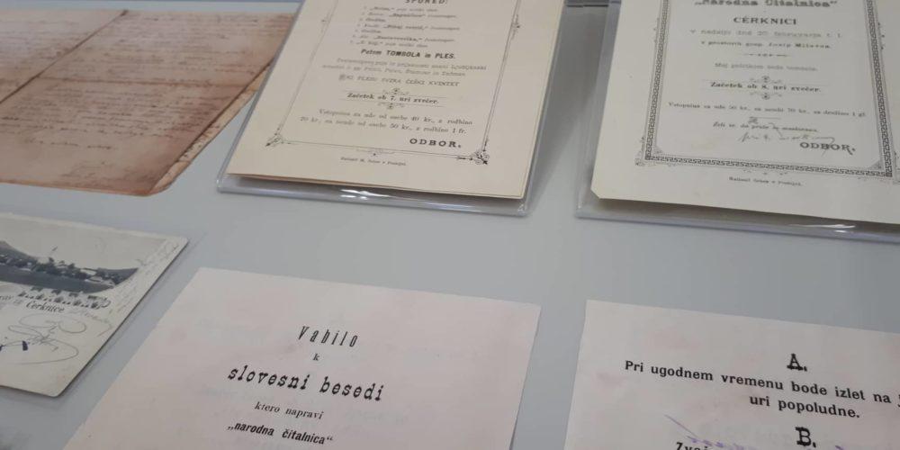 Fran Gerbič je tlakoval pot tudi javni knjižnici