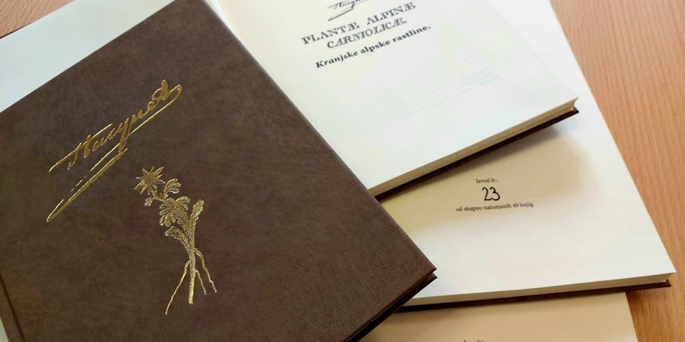 KJUC v sozaložništvu izdala prevod temeljnega botaničnega dela pri nas, Hacquetove monografije iz leta 1782