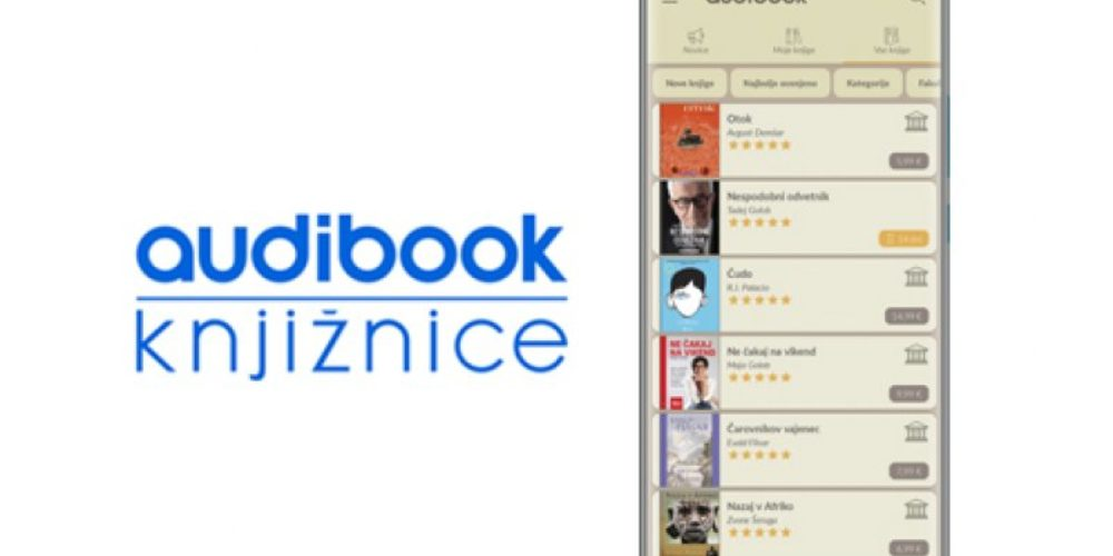Zvočne knjige Audibook