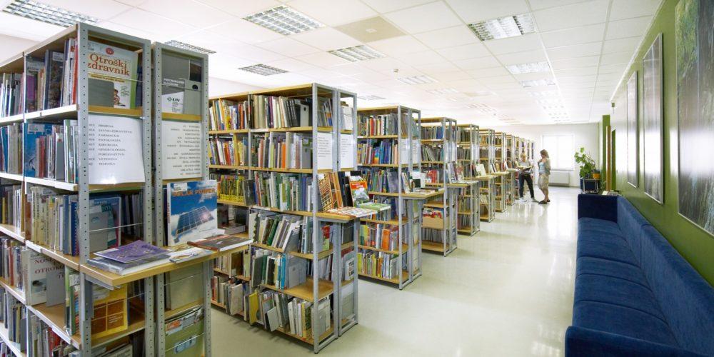 Vstop v knjižnico možen le z izpolnjenim PCT pogojem