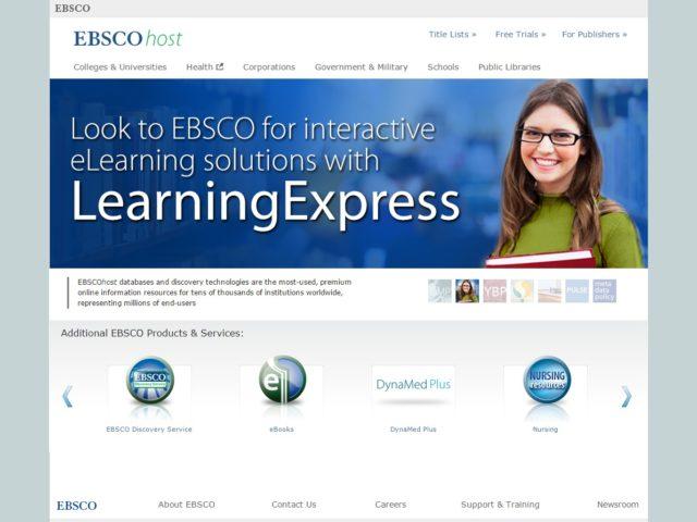 EBSCOhost – zbirka polnih besedil člankov EBSCOhost