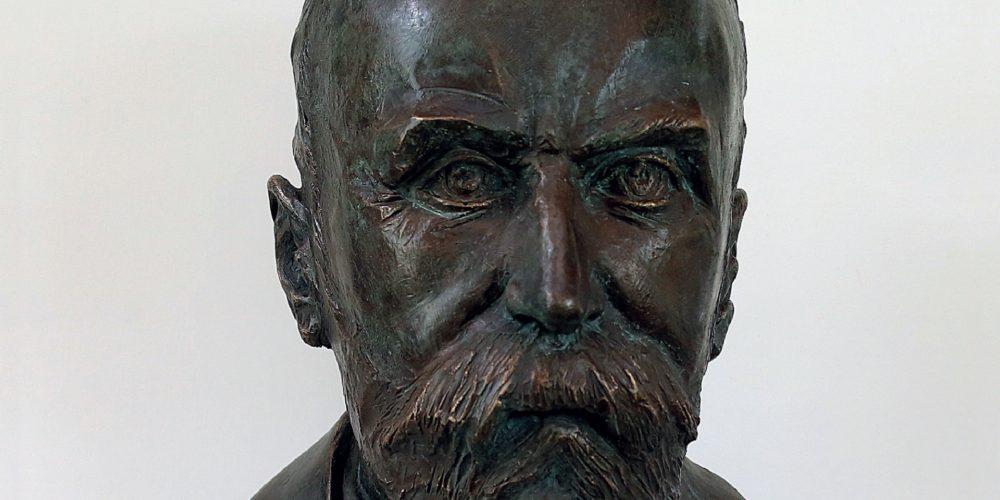 Odkritje doprsnega kipa Frana Gerbiča