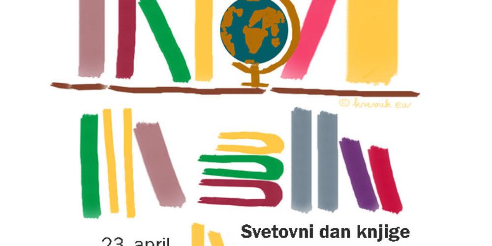 Svetovni dan knjige in avtorskih pravic – poslanica Dušana Merca, predsednika DSP
